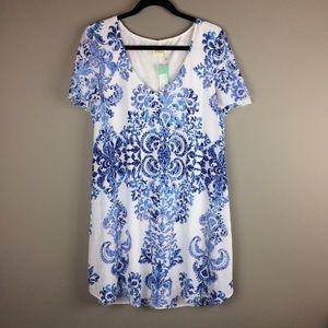 Show Me Your Muni for Stitch Fix Kelsie blue dress